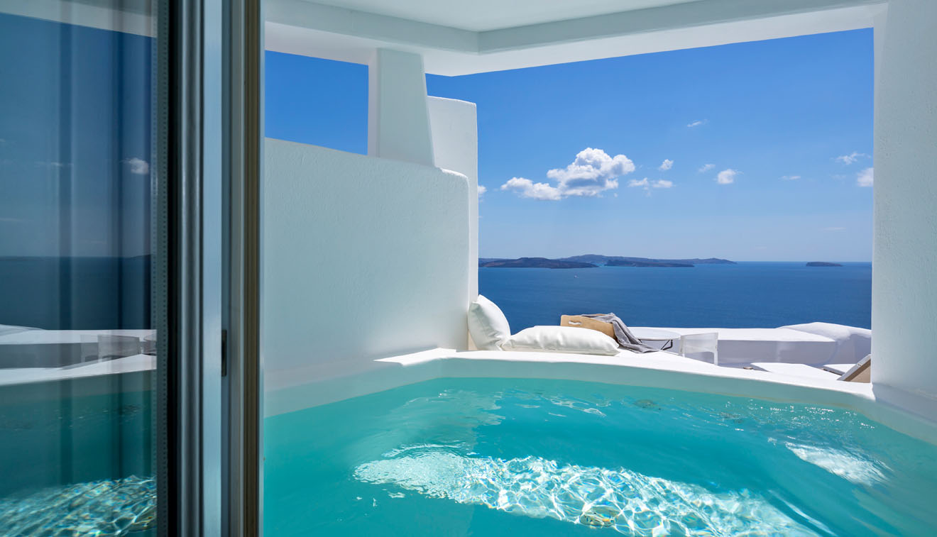Honeymoon Suite Canaves Oia Santorini
