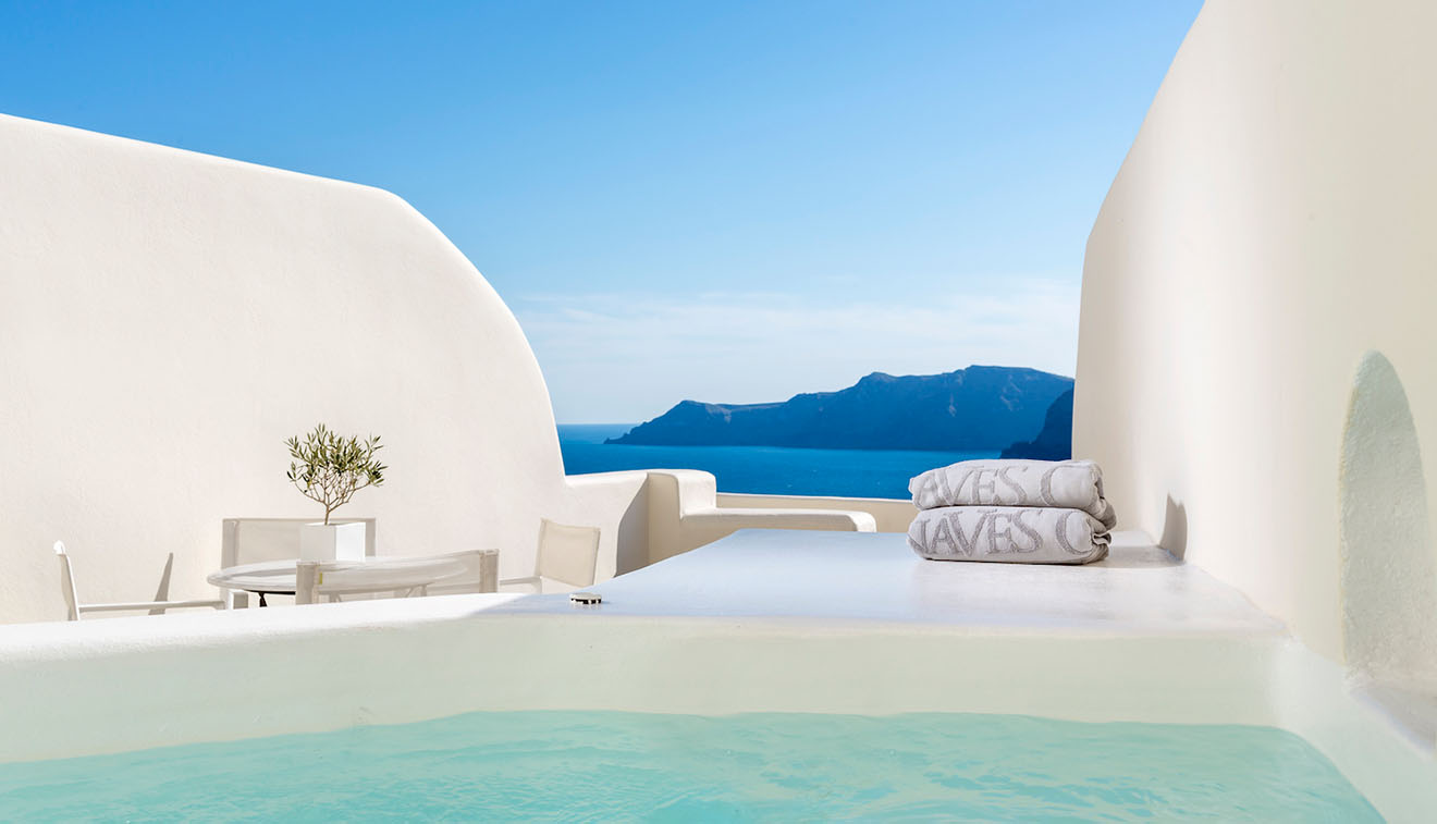 Junior Suite With Plunge Pool Canaves Oia Santorini