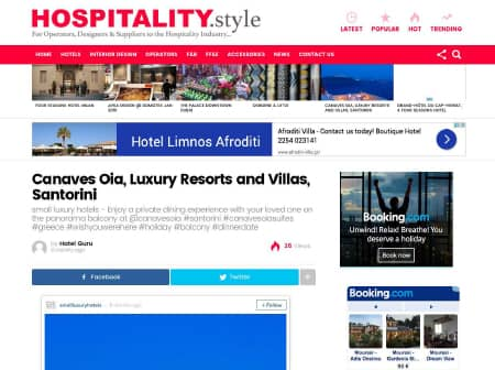 2016 Canaves O Hospitality Style Featured