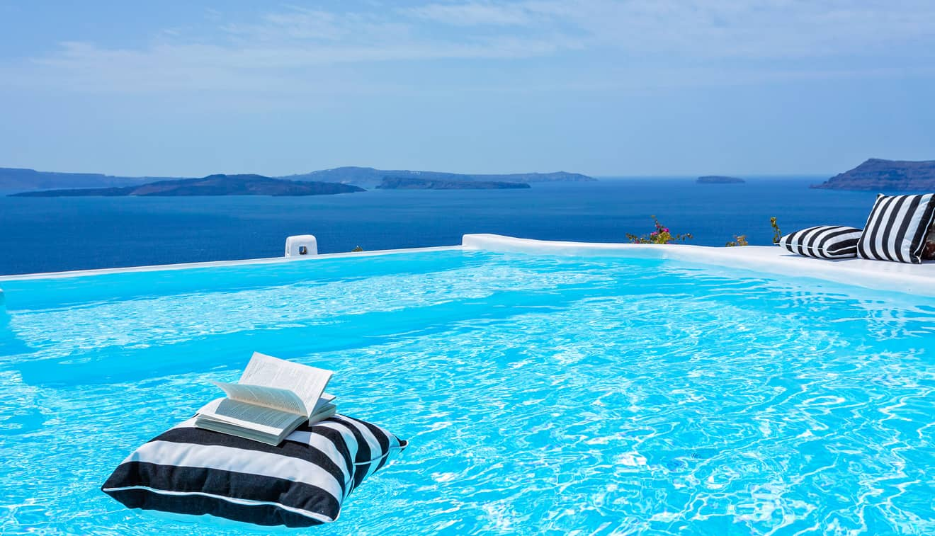 Canaves Oia Hotel Infinity pool 3