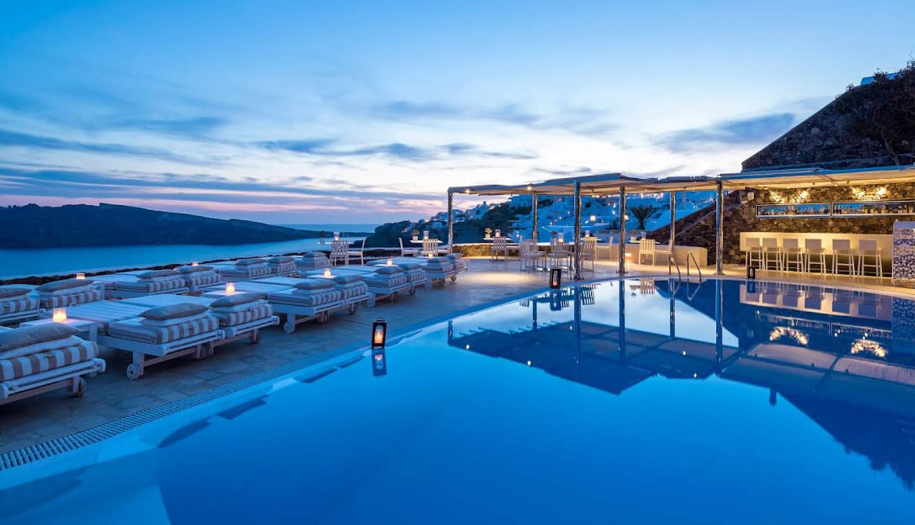 Canaves Oia Suites Pool 1