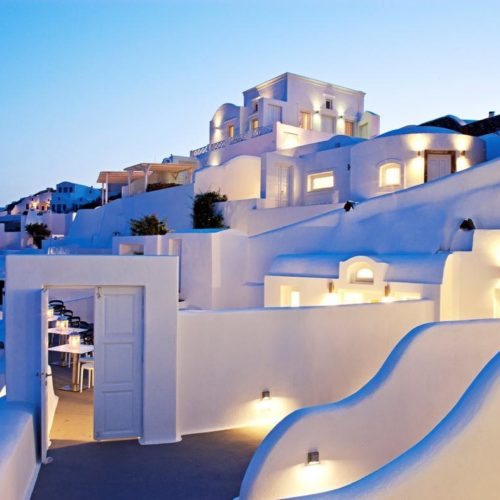 Canaves Oia Hotel Architecture 7