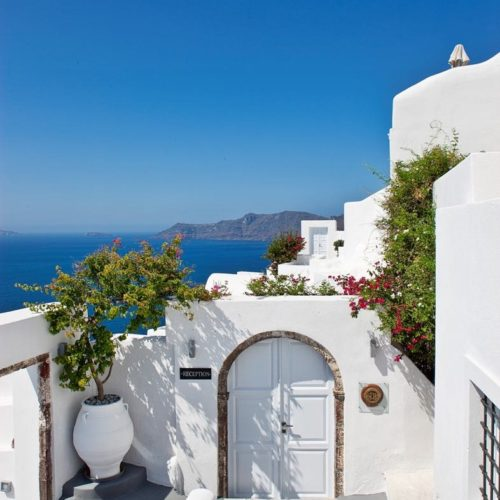 Canaves Oia Hotel Architecture 8