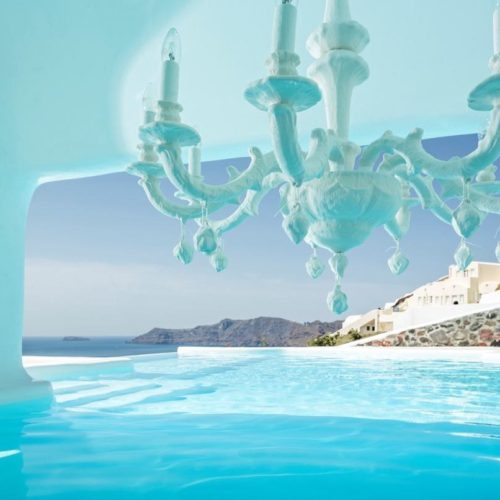Canaves Oia Hotel Pool 12