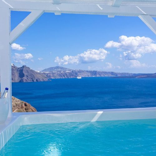 Canaves Oia Hotel Pool 2