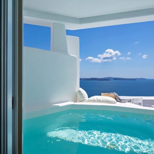 Canaves Oia Hotel Pool 4