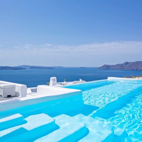 Canaves Oia Hotel Pool 8