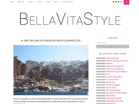 2016 Canaves O Bella Vita Style Featured