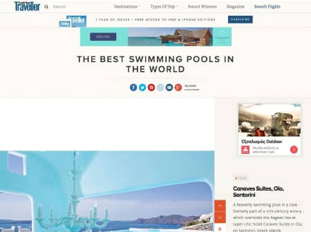 2016 Canaves O Conde Nast Traveller Featured