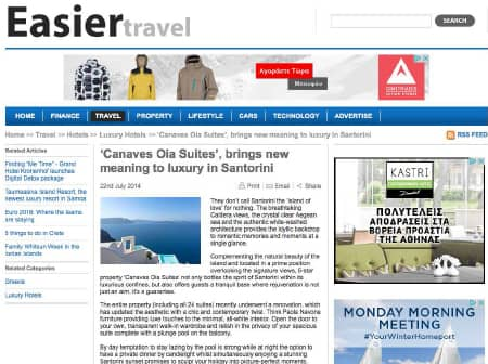 2016 Canaves O Easier Travel Featured