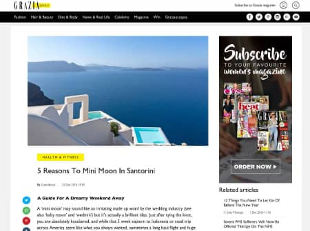 2016 Canaves O Grazia Daily Featured