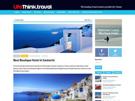 2016 Canaves O Life Think Travel Featured