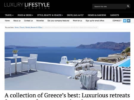 2016 Canaves O Luxury Lifestyle Magazine Featured