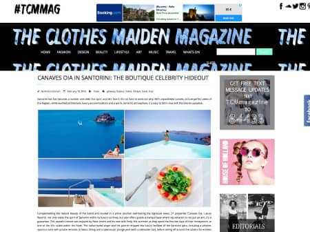 2016 Canaves O The Clothes Maiden Featured