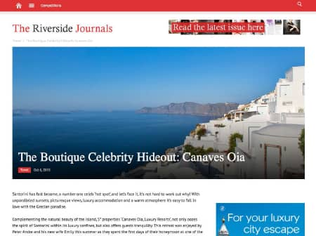 2016 Canaves O The Riverside Journals Featured