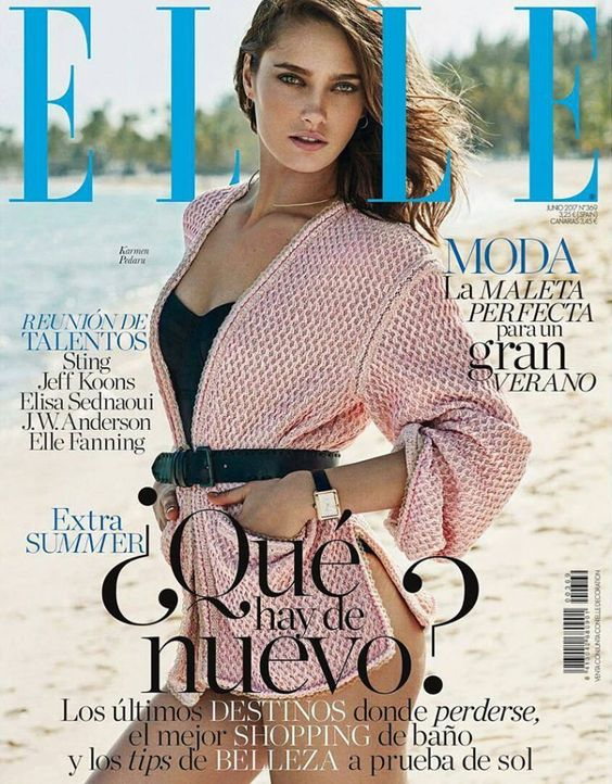 2017 Canaves ELLE ES Cover