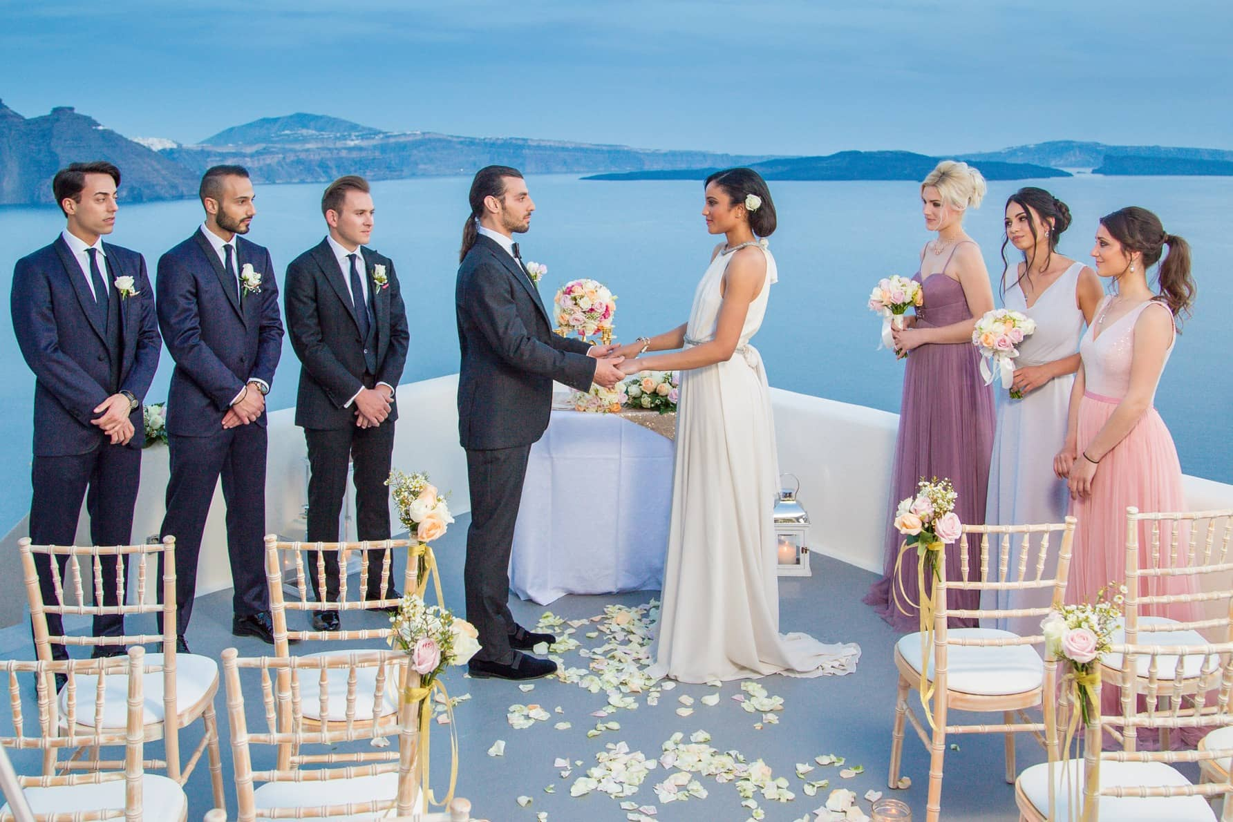 Santorini Weddings Packages Venues Canaves Oia Santorini