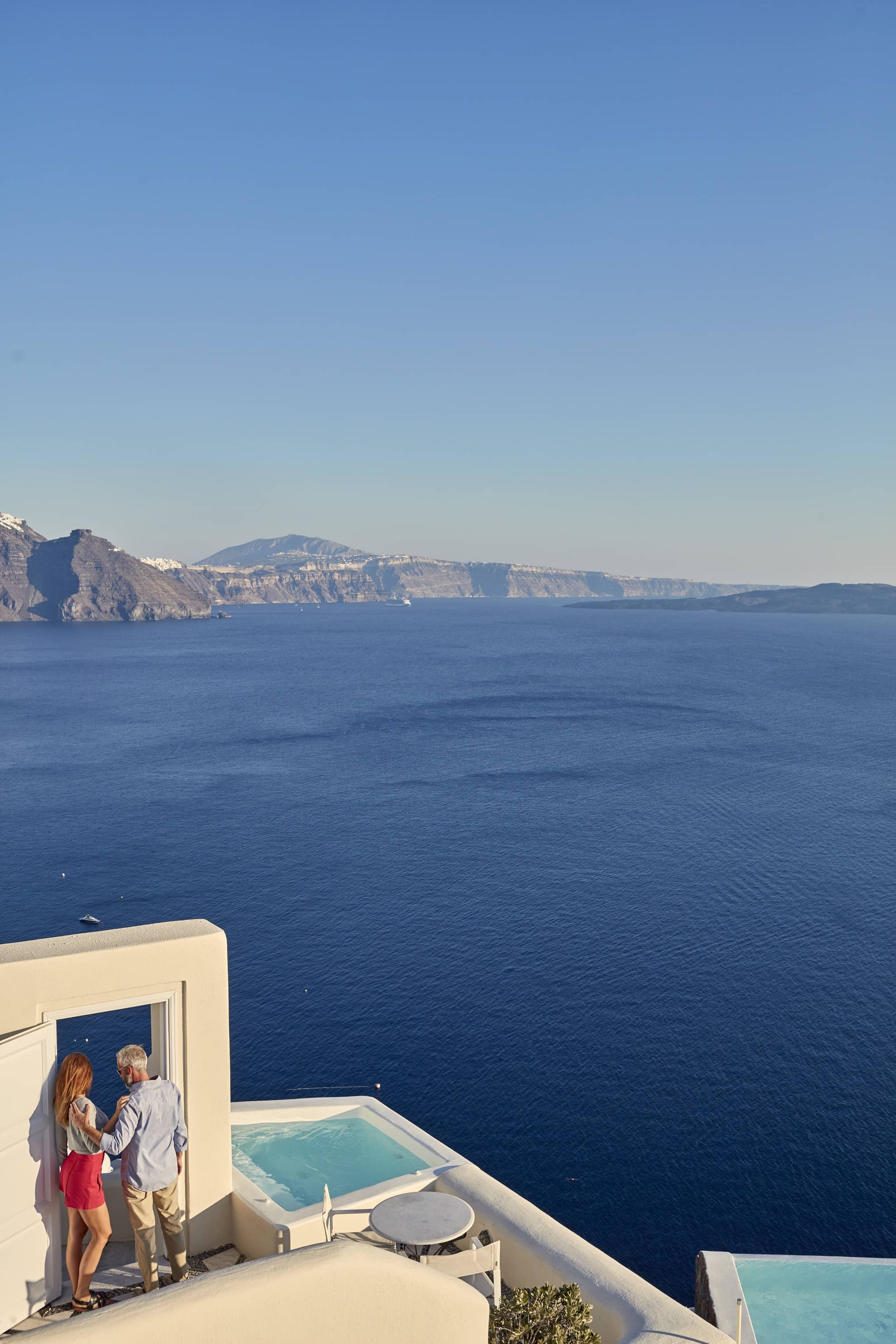 santorini suites photos