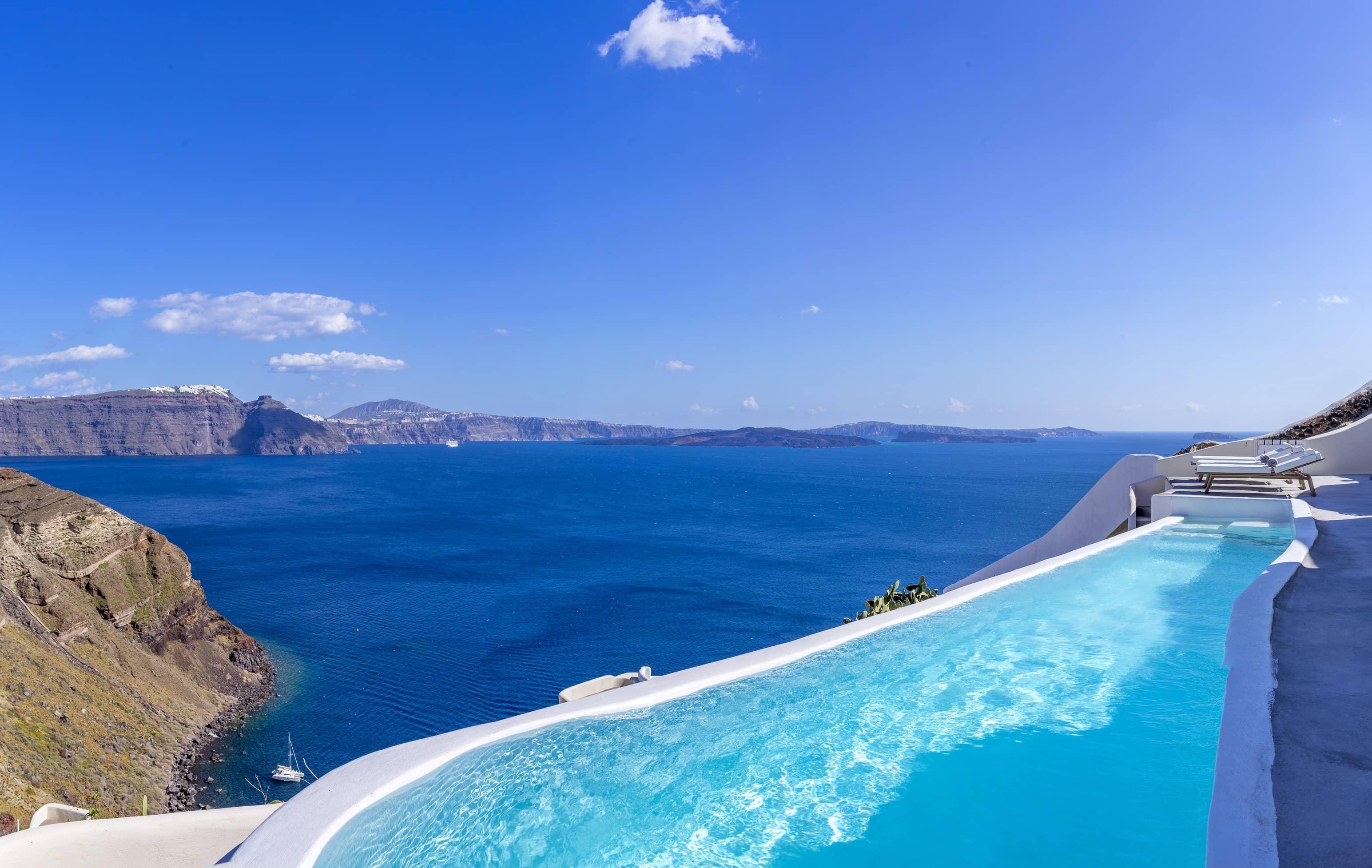 Design Your Pool Santorini Villas Photos Canaves Oia Villa
