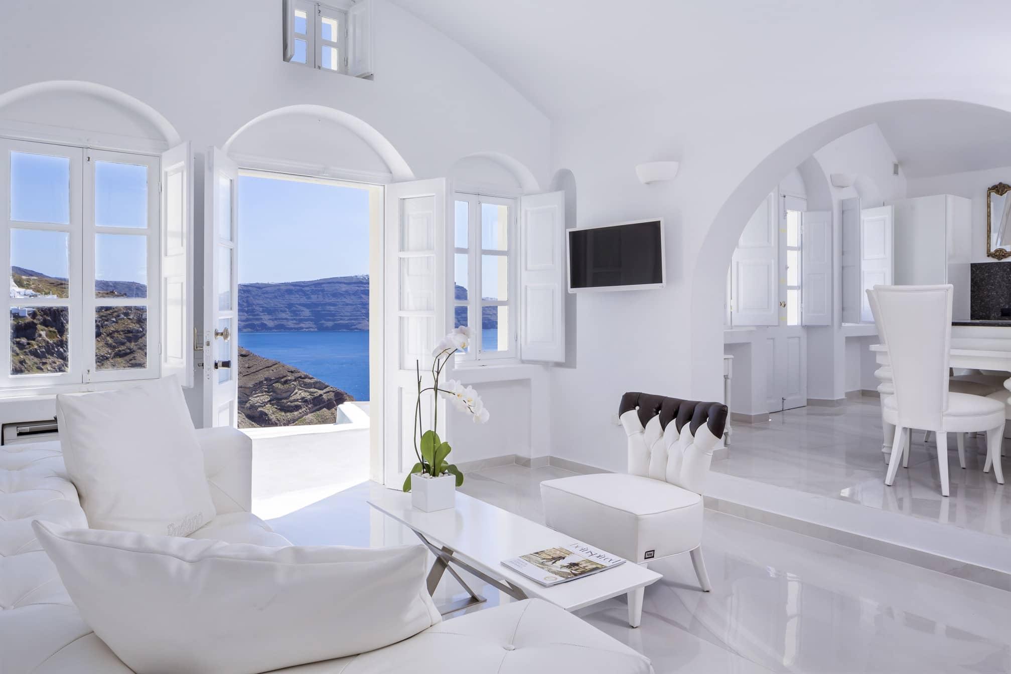 Santorini Villas Photos Canaves Oia Villa